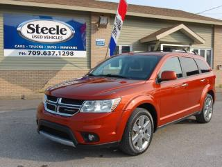 Used 2014 Dodge Journey R/T 7 Pass for sale in Corner Brook, NL
