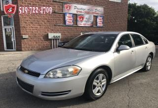 Used 2011 Chevrolet Impala LS/CERTIFIED/WARRANTY INCLUDED for sale in Cambridge, ON
