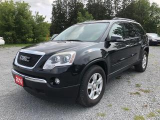 Used 2010 GMC Acadia SLE 8 PASSENGER BACK UP CAMERA for sale in Gormley, ON