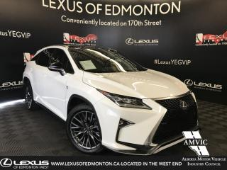 Used 2016 Lexus RX 350 F Sport Series 3 for sale in Edmonton, AB