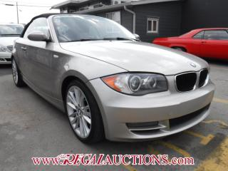 Used 2008 BMW 1 Series 128I 2D Convertible for sale in Calgary, AB
