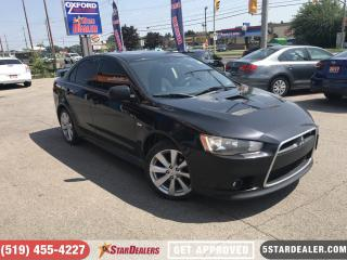 Used 2014 Mitsubishi Lancer Ralliart | ONE OWNER | AWD for sale in London, ON