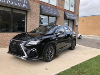 Used 2017 Lexus RX 350 F SPORT F3 for sale in Concord, ON