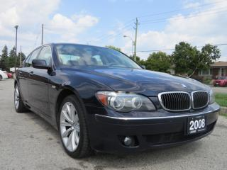 Used 2008 BMW 7 Series 750I 4D SEDAN for sale in Scarborough, ON