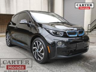 Used 2016 BMW i3 w/Range Extender TERA + LTHR +NAVI for sale in Vancouver, BC