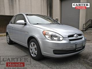 Used 2007 Hyundai Accent LOW KMS! for sale in Vancouver, BC