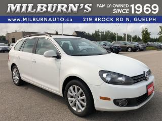 Used 2013 Volkswagen Golf Wagon Comfortline TDI / Pano Roof for sale in Guelph, ON