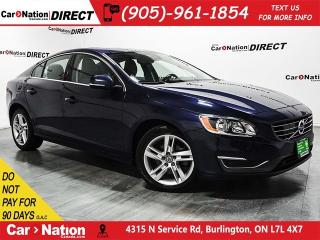 Used 2015 Volvo S60 T5 Premier| LEATHER| SUNROOF| PUSH START| for sale in Burlington, ON