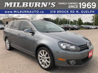 Used 2014 Volkswagen Golf Wagon Wolfsburg Edition TDI / Nav. / Pano Roof for sale in Guelph, ON