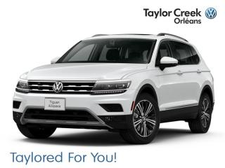 New 2018 Volkswagen Tiguan Highline 2.0T 8sp at w/Tip 4M for sale in Orleans, ON