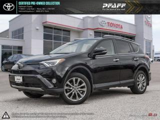 Used 2016 Toyota RAV4 AWD Limited FULLY LOADED NAVI, SUNROOF AND MORE for sale in Orangeville, ON