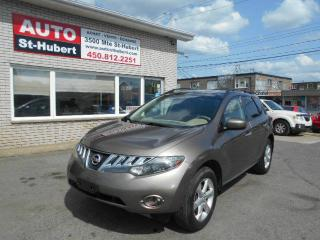 Used 2009 Nissan Murano SL AWD for sale in Saint-hubert, QC