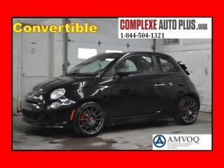 Used 2013 Fiat 500 C Abarth Convertible for sale in St-Jérôme, QC