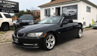 Used 2011 BMW 328 iC 328I CONVERTIBLE SPORT PKG NAVI NO ACCIDENT for sale in Mississauga, ON