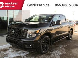 New 2018 Nissan Titan SV Midnight Edition 4x4 Crew Cab 139.8 in. WB for sale in Edmonton, AB