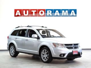 Used 2012 Dodge Journey R/T 4WD 7 PASS LEATHER SUNROOF BACKUP CAM for sale in North York, ON
