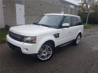 Used 2012 Land Rover Range Rover Sport SPORT HSE ! LUXURY ! NAVIGATION ! CAMERA ! for sale in Oakville, ON