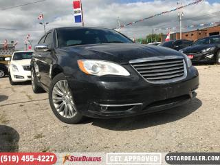 Used 2014 Chrysler 200 Limited | LEATHER | ROOF | HEATED SEATS for sale in London, ON