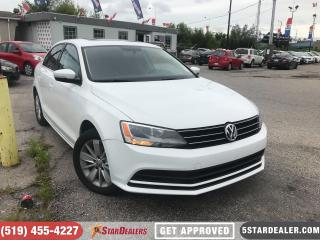 Used 2015 Volkswagen Jetta 2.0L Trendline+ | ROOF | HEATED SEATS for sale in London, ON