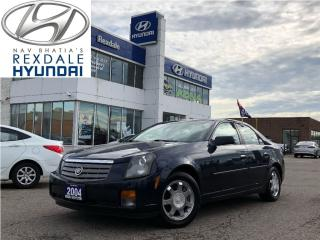 Used 2004 Cadillac CTS Luxury w/1SB for sale in Toronto, ON