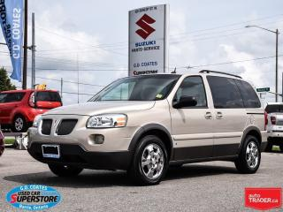 Used 2007 Pontiac Montana Sv6 ~Quad Seats ~Chrome Wheels for sale in Barrie, ON