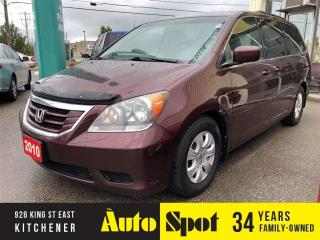 Used 2010 Honda Odyssey SE/LOW, LOW KMS/DVD/PRICED-QUICK SALE! for sale in Kitchener, ON