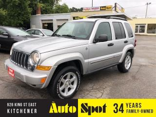 Used 2007 Jeep Liberty Limited Edition/LOW, LOW KMS/PRICED-QUICK SALE! for sale in Kitchener, ON