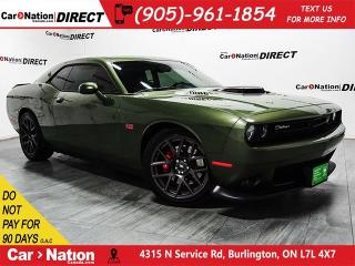 Used 2018 Dodge Challenger R/T Shaker| LOCAL TRADE| NAVI| for sale in Burlington, ON