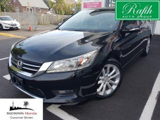 Used 2014 Honda Accord Touring-Navi-Front collision warning for sale in North York, ON