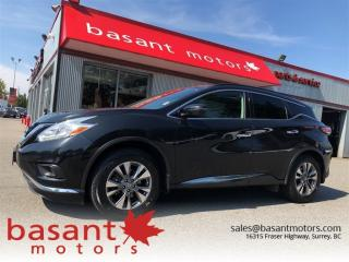 Used 2016 Nissan Murano SV, Panoramic Roof, Nav, Backup Cam, Heated Seats! for sale in Surrey, BC