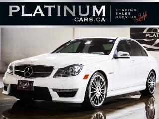Used 2013 Mercedes-Benz C63 AMG , NAVI, CAM, SUNROOF, Paddle Shift for sale in Toronto, ON