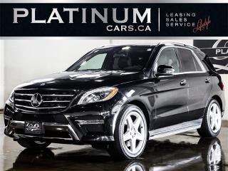 Used 2014 Mercedes-Benz ML 350 4MATIC, AMG SPORT, NAVI, 360 CAM, PANO for sale in Toronto, ON