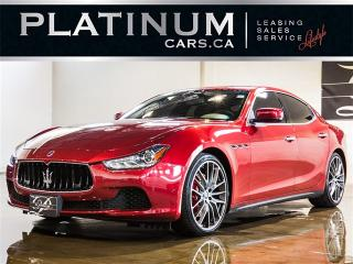 Used 2015 Maserati Ghibli S Q4 SPORT, PREMIUM, LUXURY, NAVI, CAM for sale in Toronto, ON