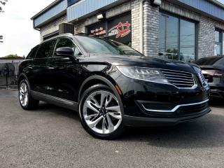 Used 2016 Lincoln MKX RESERVE AWD TOIT PANO MAGS 21 POUCES GPS for sale in Longueuil, QC
