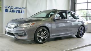 Used 2017 Honda Accord TOURING SEDAN for sale in Blainville, QC