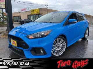 Used 2016 Ford Focus RS  - SYNC -  Power Windows - Low Mileage for sale in St Catharines, ON