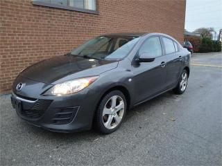 Used 2010 Mazda MAZDA3 NO ACCIDENTS /SAFETY AND WARRANTY for sale in Oakville, ON