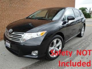 Used 2009 Toyota Venza Leather seats, V6 AWD for sale in Oakville, ON
