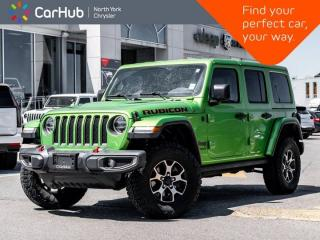 New 2018 Jeep Wrangler Unlimited Rubicon 4x4 Heated Leather Seats Nav & Sound Grps for sale in Thornhill, ON