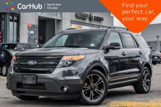 Used 2015 Ford Explorer Sport AWD|Sunroof|Nav|Leather|HeatFrntSeats|R-Start|20