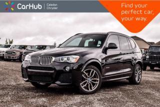 Used 2016 BMW X3 xDrive35i|Navi|Pano Sunroof|Backup Cam|Bluetooth|Heated Front Seats|19