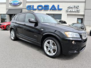 Used 2014 BMW X3 xDrive35i M-SPORT NAVIGATION PANOR. ROOF. for sale in Ottawa, ON
