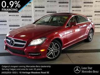 Used 2014 Mercedes-Benz CLS550 4MATIC Coupe for sale in Calgary, AB
