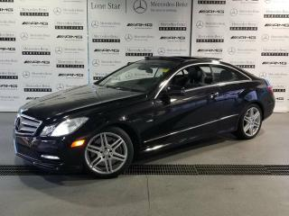 Used 2012 Mercedes-Benz E550 Coupe for sale in Calgary, AB