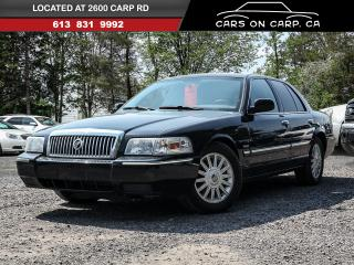 Used 2010 Mercury Grand Marquis LS Ultimate Edition for sale in Ottawa, ON