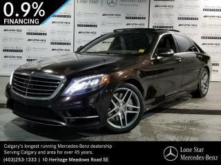 Used 2015 Mercedes-Benz S550 4MATIC Sedan (LWB) for sale in Calgary, AB