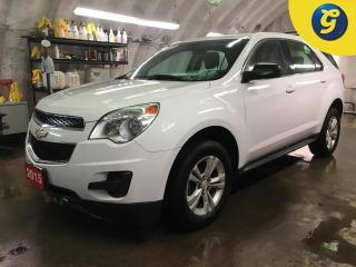 Used 2015 Chevrolet Equinox LS*HANDS FREE PHONE*STEERING WHEEL CONTROL/VOICE RECOGNITION*TELESCOPIC STEERING WHEEL*ON STAR*AUTOMATIC/MANUAL DRIVE*CHILD LOCK WINDOWS* for sale in Cambridge, ON