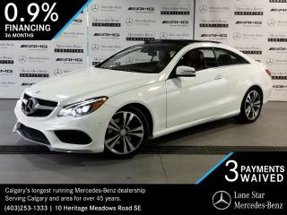 Used 2014 Mercedes-Benz E350 4MATIC Coupe for sale in Calgary, AB