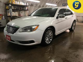 Used 2012 Chrysler 200 LIMITED*SUNROOF*NAVIGATION*LEATHER*HEATED FRONT SEATS*TOUCH SCREEN*PHONE CONNECT/ HANDS-FREE CONTROLS/VOICE COMMAND *AUTO HEADLIGHTS/FOG LIGHTS*POWER for sale in Cambridge, ON