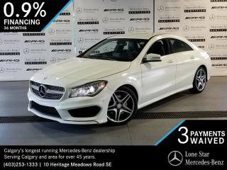 Used 2016 Mercedes-Benz CLA250 4MATIC Coupe for sale in Calgary, AB